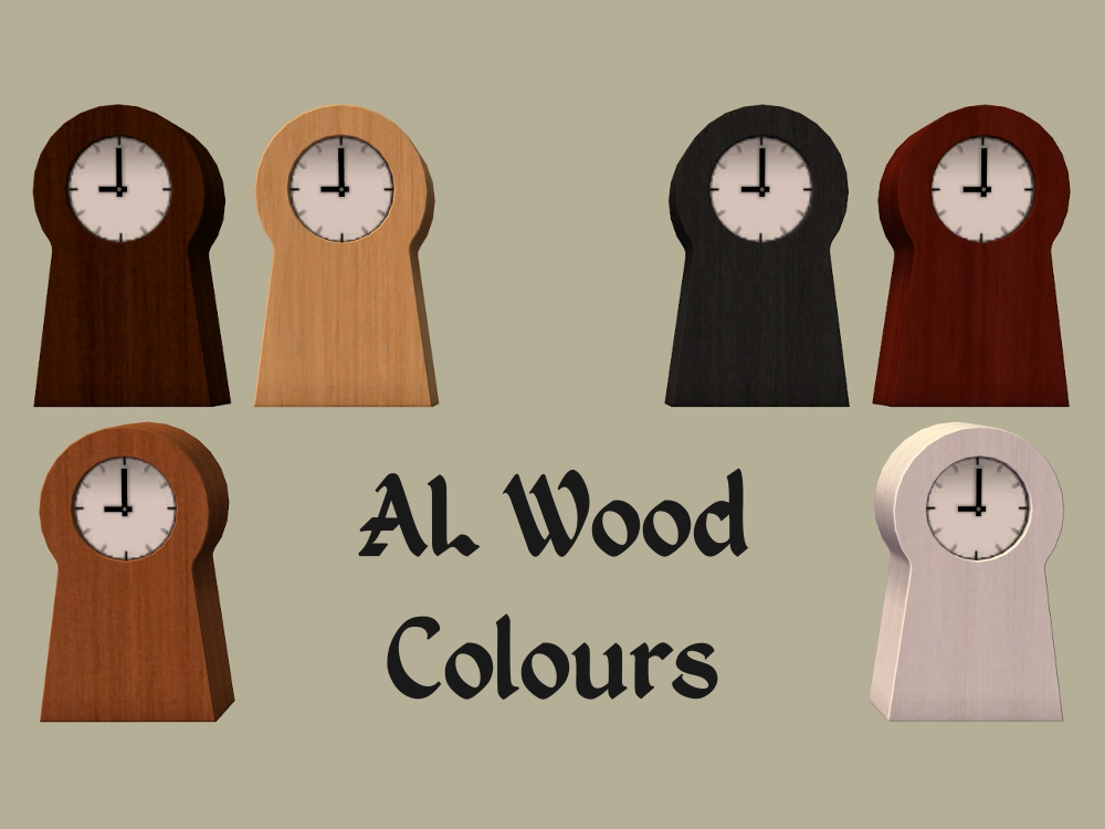 Mod The Sims Ikea Ps Clock Recolours