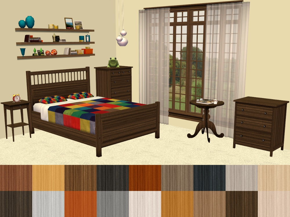 Pocci s DewDrop lamp Recolours by Mustluvcatz  Contempo Curtain by  HugeLunatic  Melaka Plants by Moune  Craftsman Windows Expansion Set by  tbudget. Mod The Sims   18 More IKEA   Hemnes Bedroom Furniture Recolours