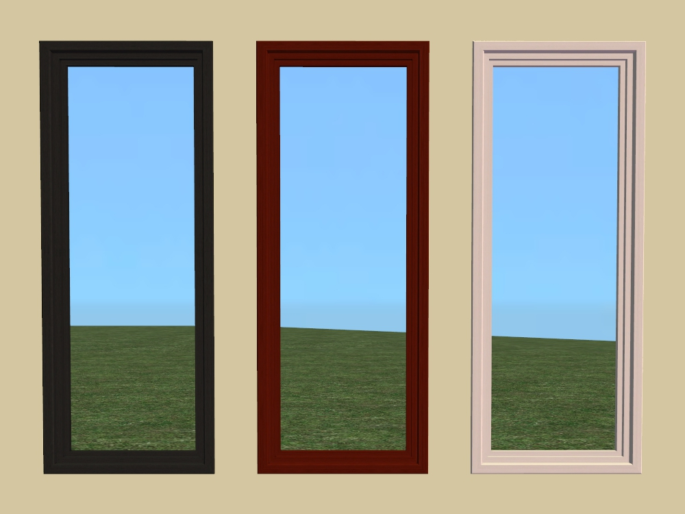 plate glass windows ceramic glass mod the sims base game windows part