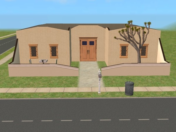 Mod The Sims Small Adobe House Furnished 19 962