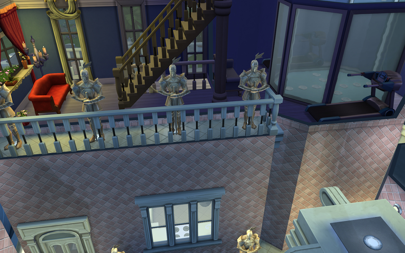 Mod the sims mermaid palace 2 variants for with and without advertisement malvernweather Images