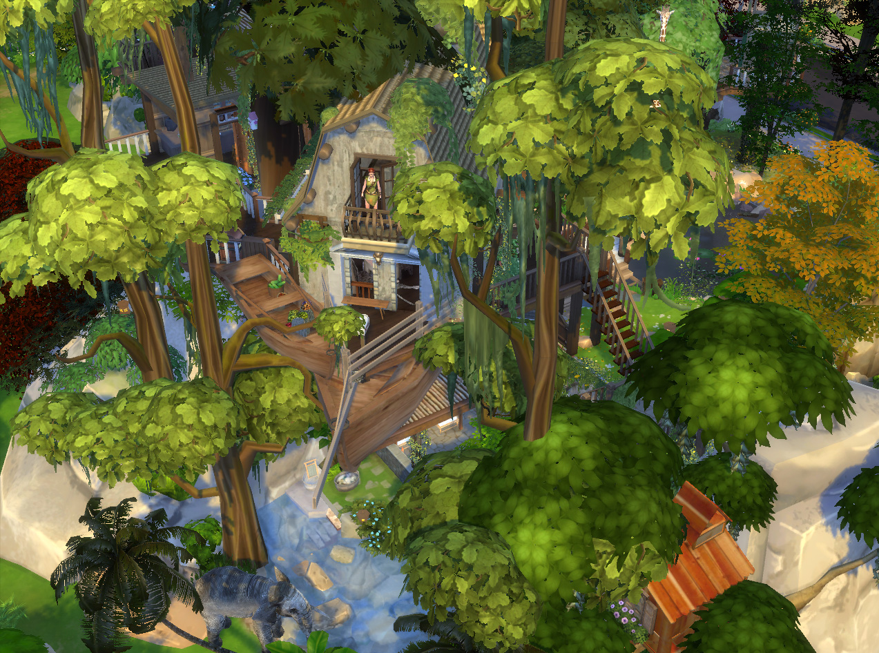 mod the sims jungle adventure all in one lot. Black Bedroom Furniture Sets. Home Design Ideas