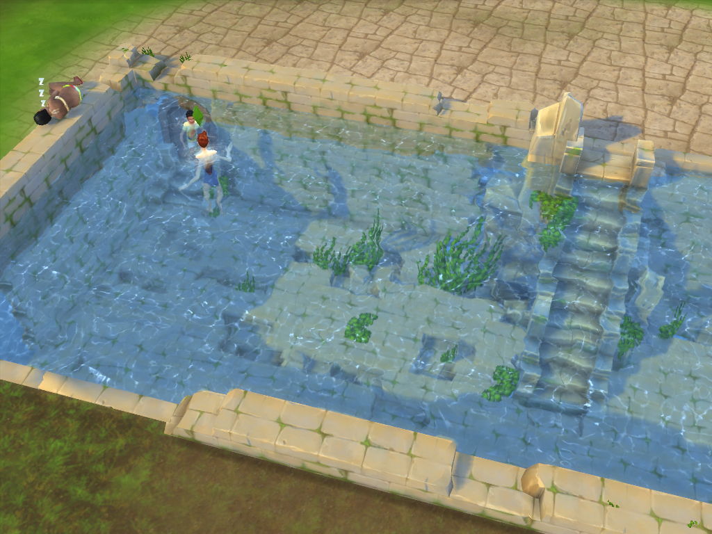 Mod the sims useful ruin building blocks for Pool design sims 3