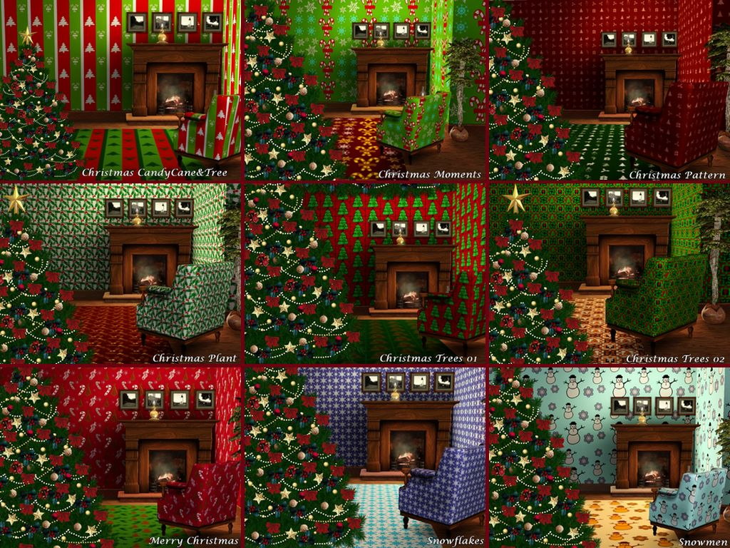 Mod The Sims - Christmas Patterns