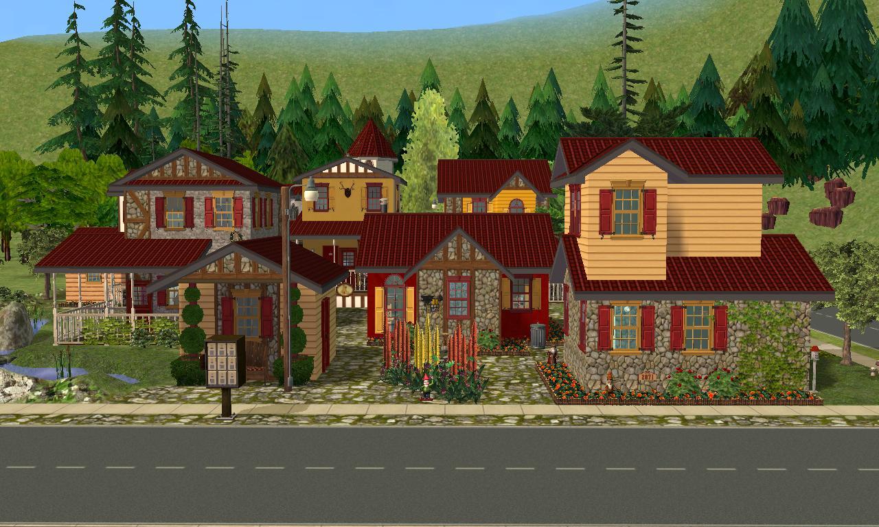 Mod The Sims Little Village