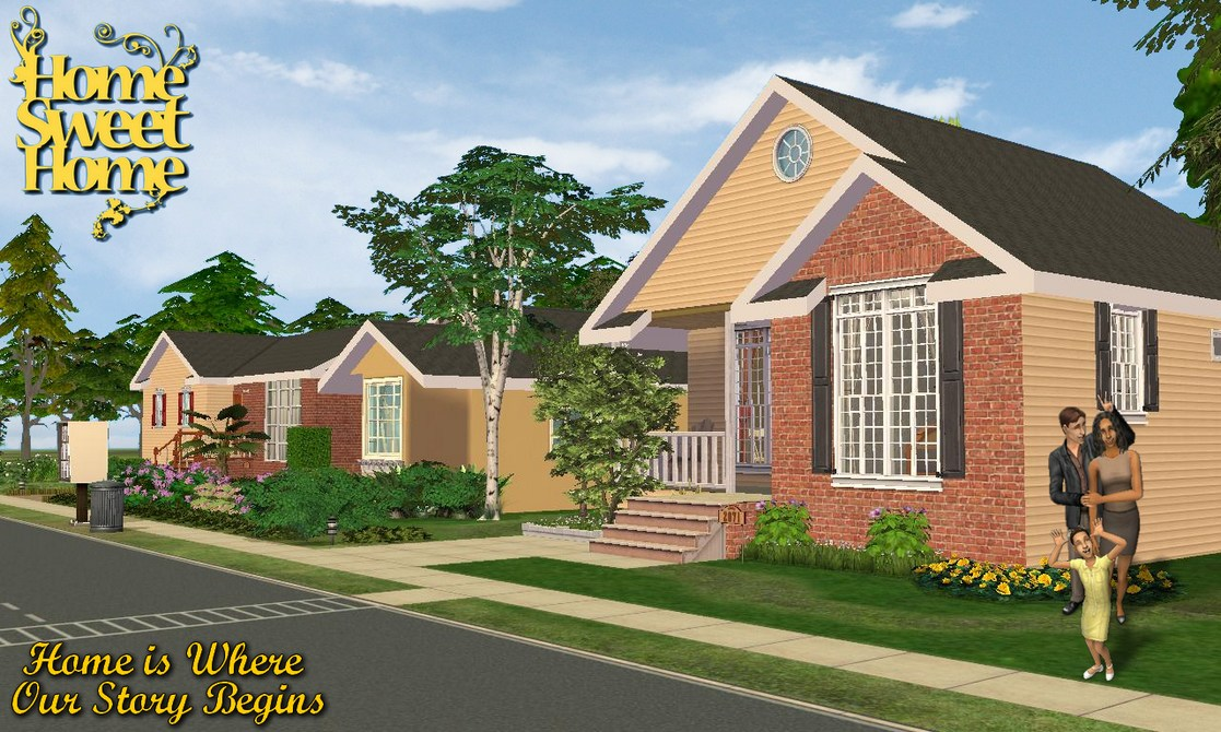 sweet custom design homes. Custom Content NOT Included  Fallingwater fulllengthwindow 2 from Collection by stonetower diagonal version of included window and black Mod The Sims Home Sweet No 1