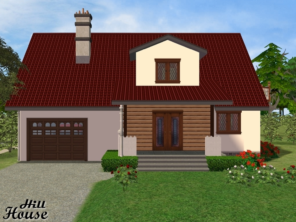 Detailed House Specifications: Residential Lot   Style~Traditional   1BR,  1,5BA Lot Size: Medium 3x3. Lot Price: 84.291. Created With The Sims 2  Ultimate ...
