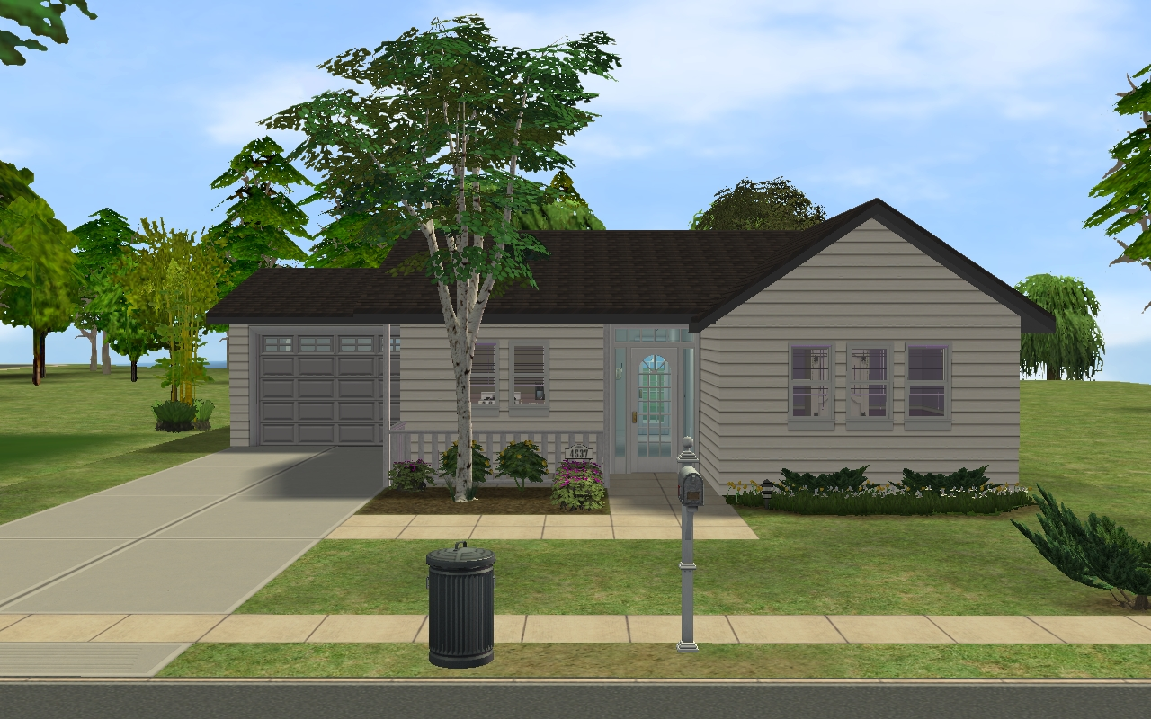 Mini Mansion Floor Plans Mod The Sims Small Suburban House