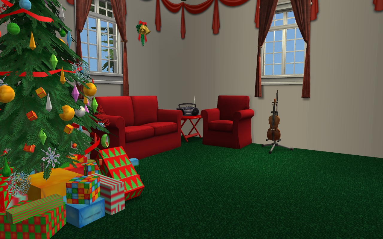 Mod The Sims Christmas Cottage