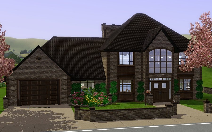 mod the sims cherry blossom manor a generation house