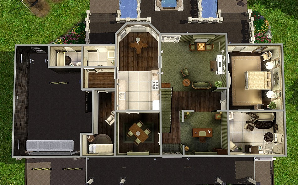 Mod the sims brown sugar a generation house for Generation house