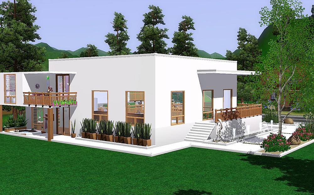Mod The Sims - Split-Level Modern