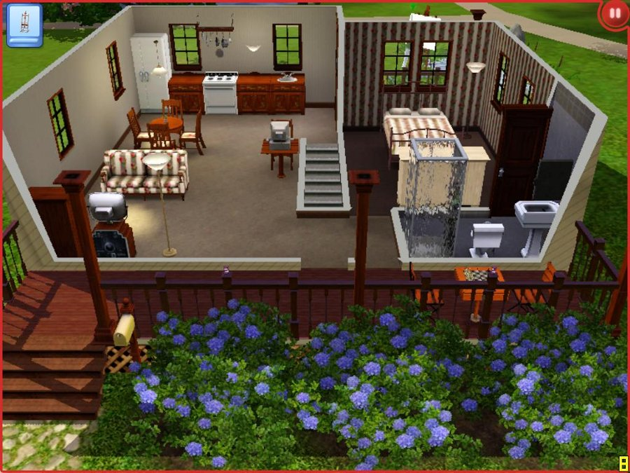mod the sims 451 riverview road starter home with a basement
