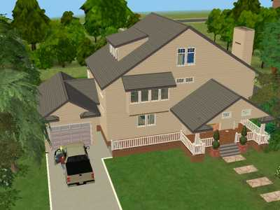 Mod The Sims      Delfino House   Wisteria Lane   Desperate    Mod The Sims      Delfino House   Wisteria Lane   Desperate Housewives   FULLY FURNISHED