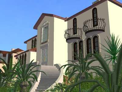 Mod the sims luxury mediterranean villa for Luxury mediterranean villas