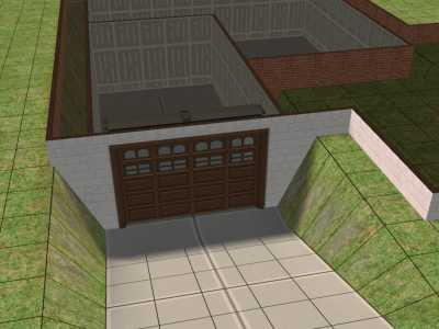 Mod The Sims 3x3 Underground Garage Template By Request