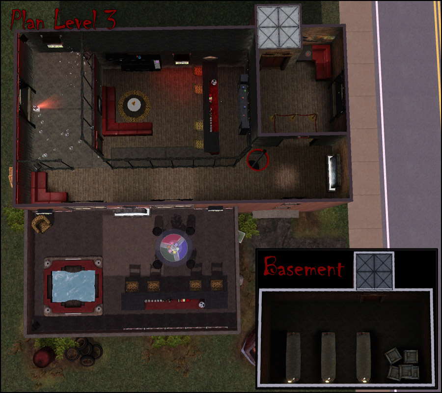 Mod The Sims Creatures A Dark And Grungy Vampire