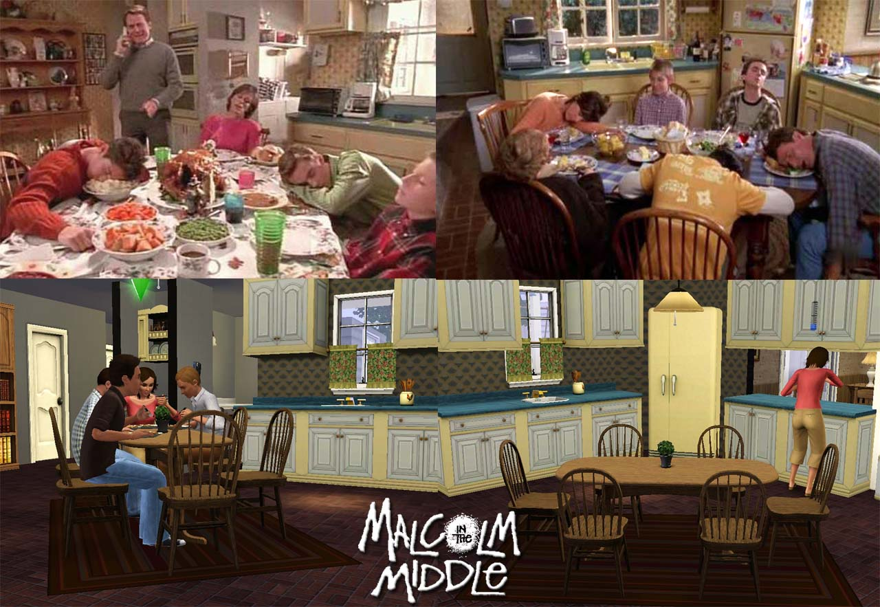 Mod The Sims Malcolm In The Middle The Wilkerson S