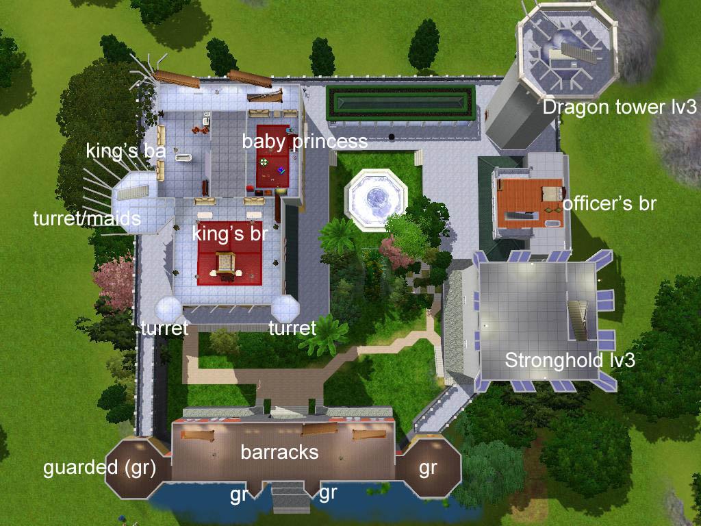 Mansion Floor Plans Sims 3 Mod The Sims The Fairytale Sky Castle Base On The
