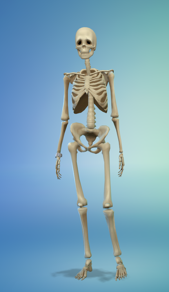 mod the sims unlocked jungle adventure skeleton outfit