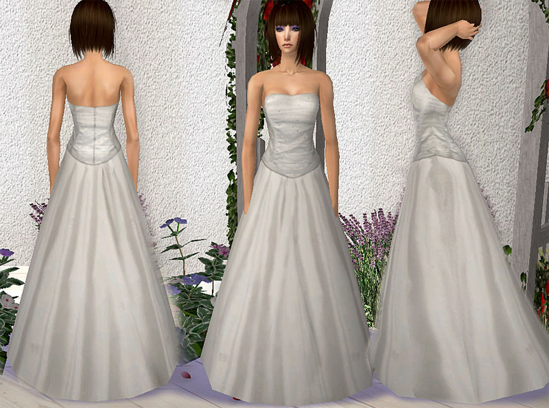 sims 2 wedding dresses