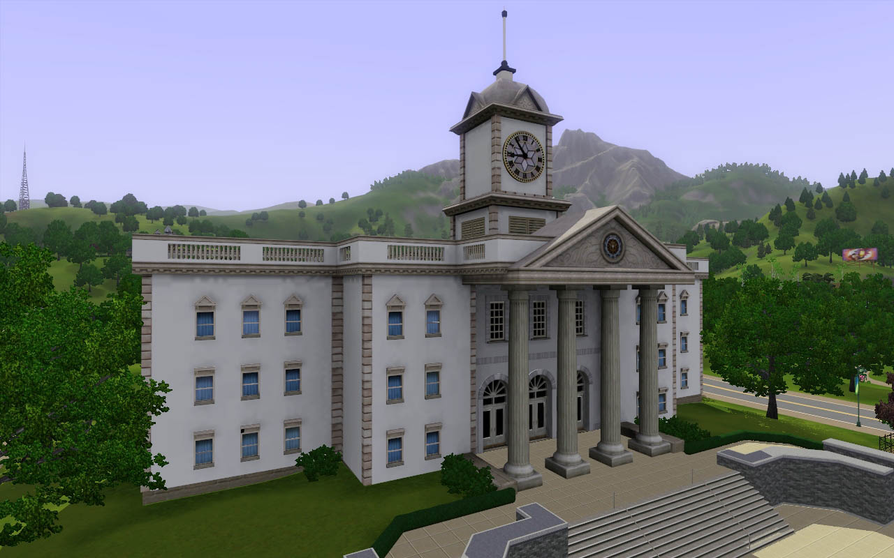 Mod The Sims 3 New Rabbitholes Hospital Grocery And