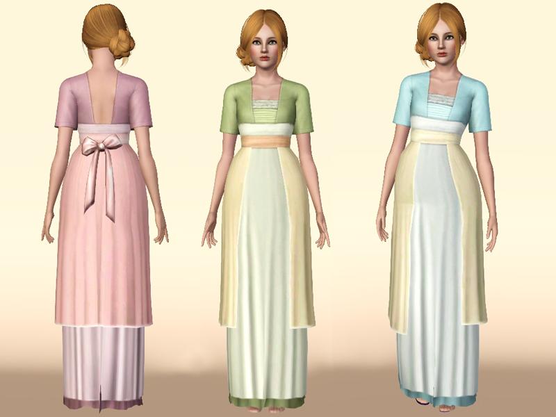 Mod The Sims Titanic Rose S Swimming Dress