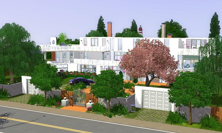 353973 on Sims 2 Modern Houses