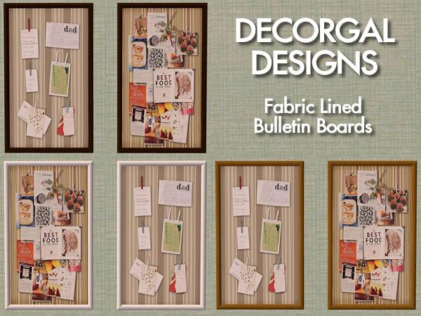 advertisement - Decorative Bulletin Boards