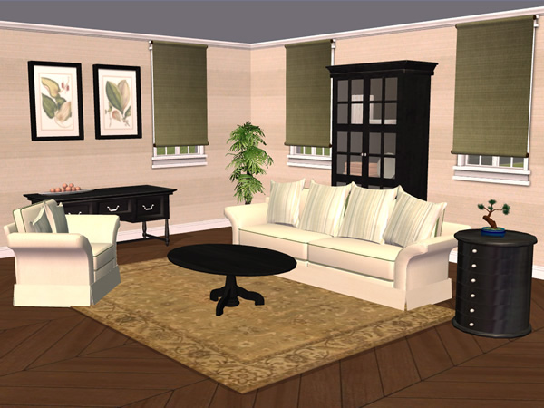 Mod the sims tarox 39 s living room recolors for 3 star living room chair sims