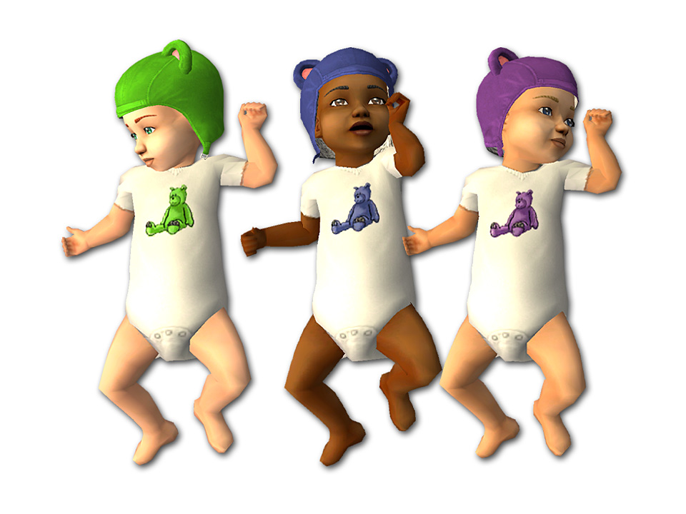 Sims  Baby Clothes Replacement