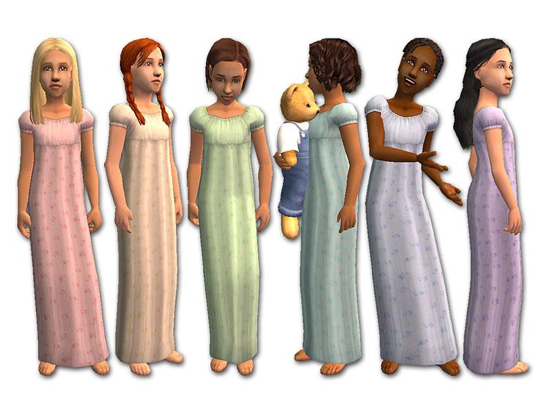 Mod The Sims - Nighty-Night Nightie Collection