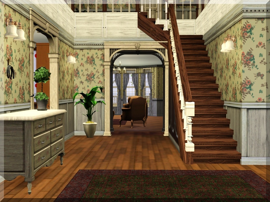 Mod the sims magnificent victorian for Classic house sims 3
