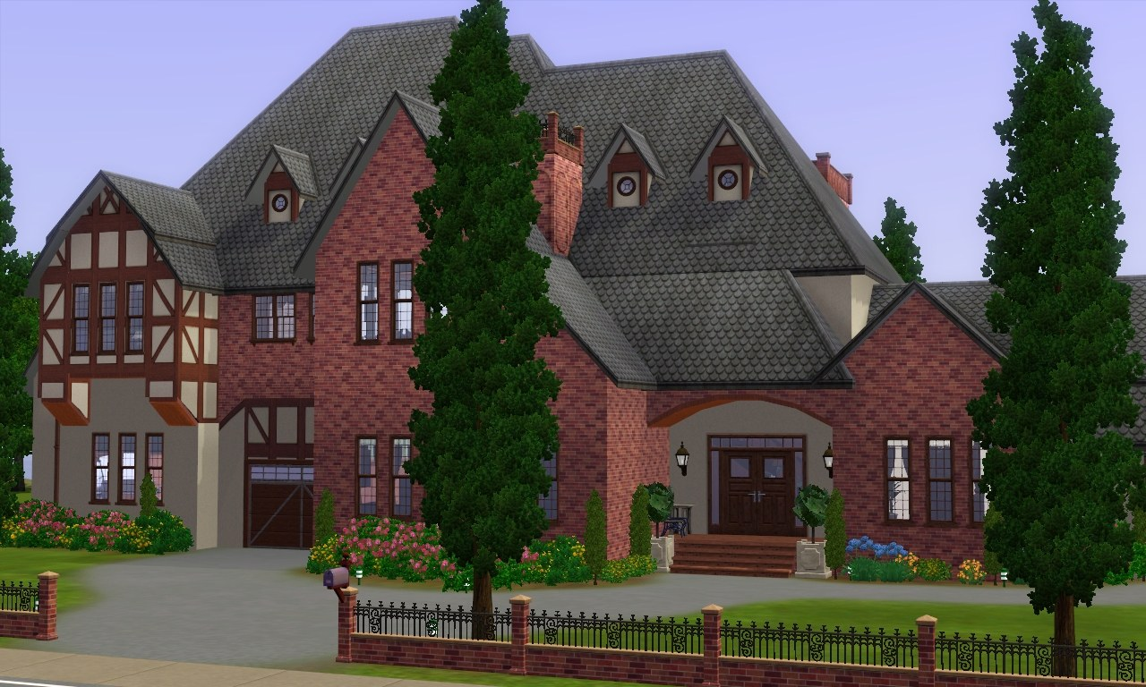 Mod the sims wickswell manor for Home manor