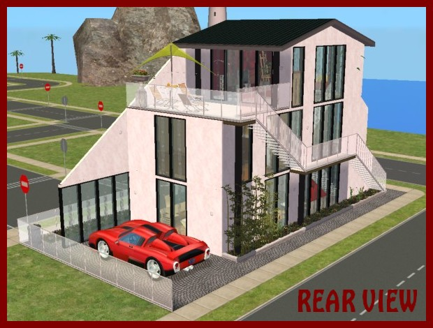 Mod The Sims Modern Row House