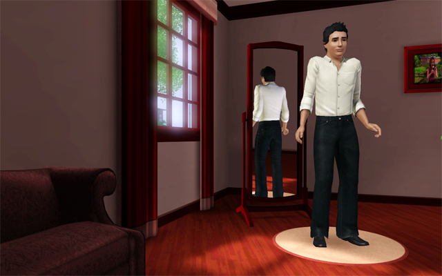 Mod The Sims Blood Red Cas Recolor
