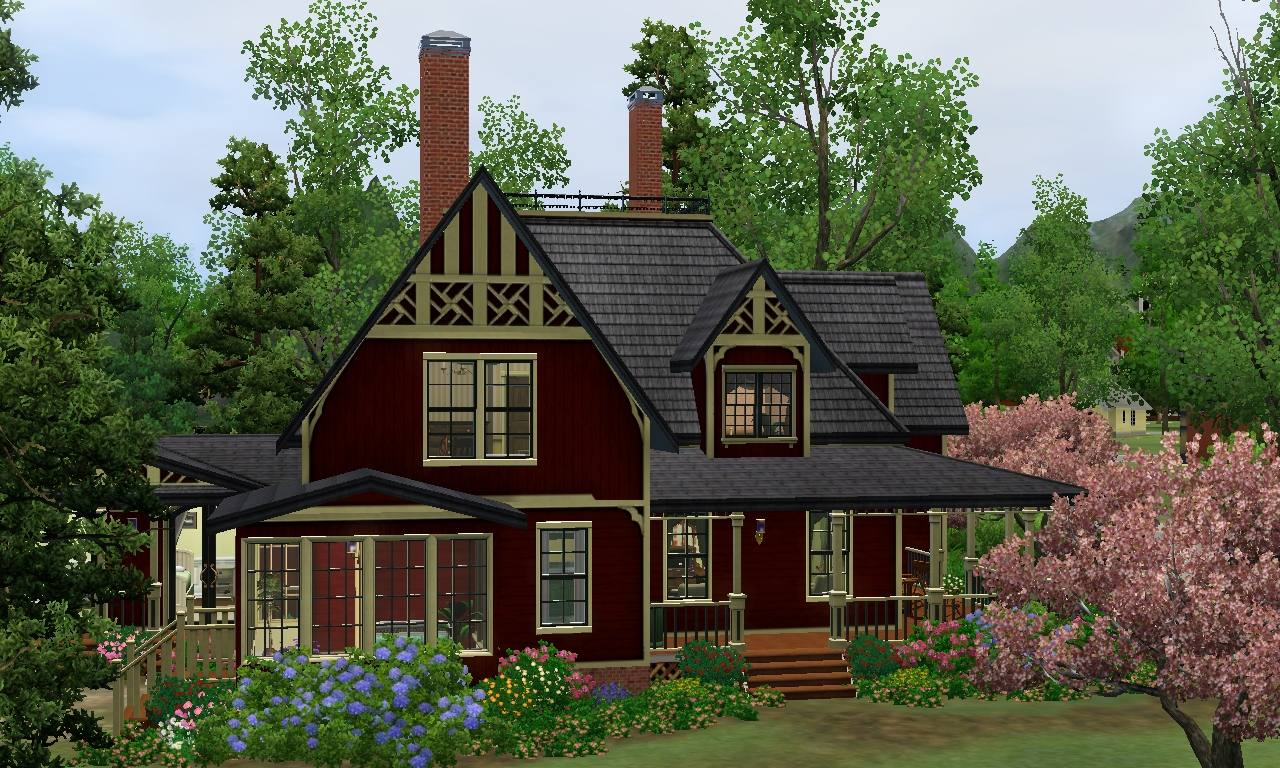 Mod the sims huckleberry cottage for The cottage house