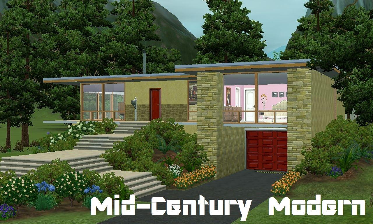 Mid century modern house styles