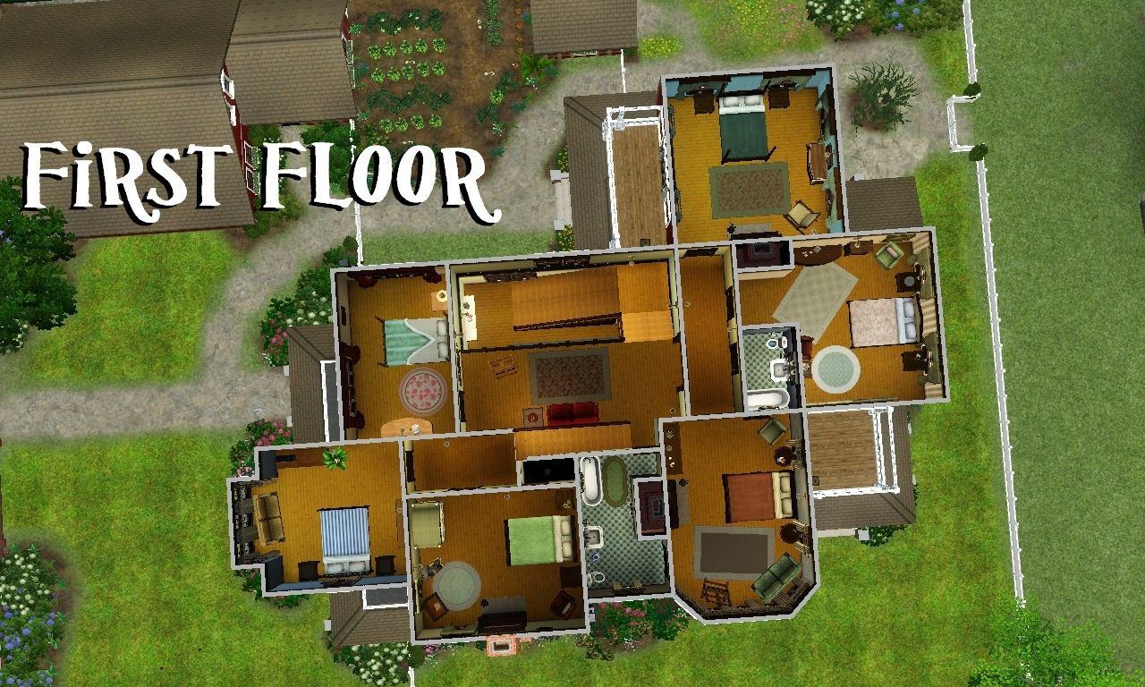 Mod The Sims The Carroll Merchant Mansion