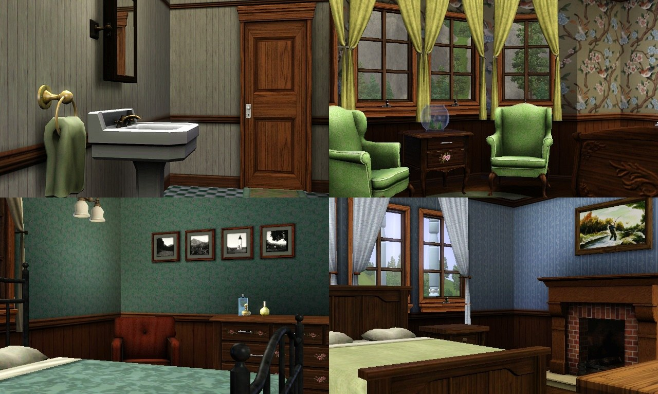 Mod the sims folk victorian the restoration for Folk victorian interior