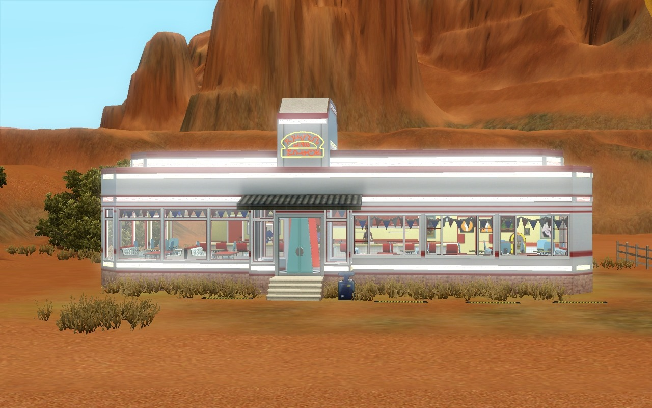 Mod The Sims   Blowin      Smoke   Diner