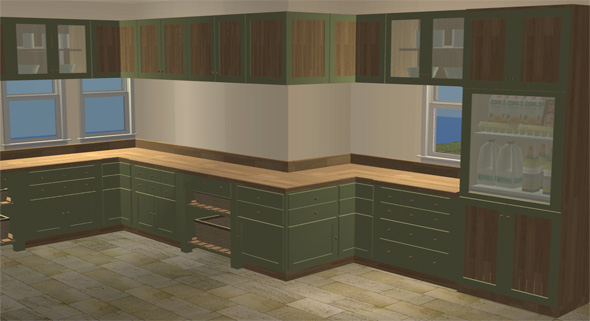 advertisement - Rustic Modern Kitchen 2