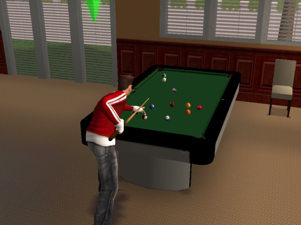 Mod The Sims Modern Pool Table