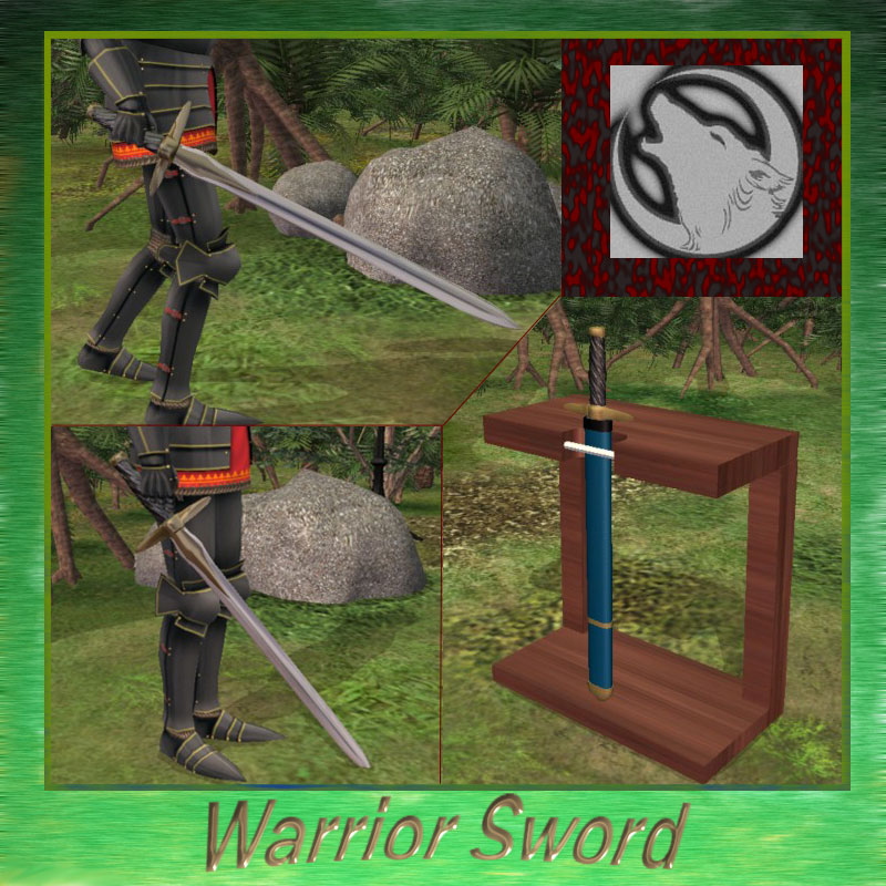 Mod The Sims - Functional Warrior Sword *UPDATED*