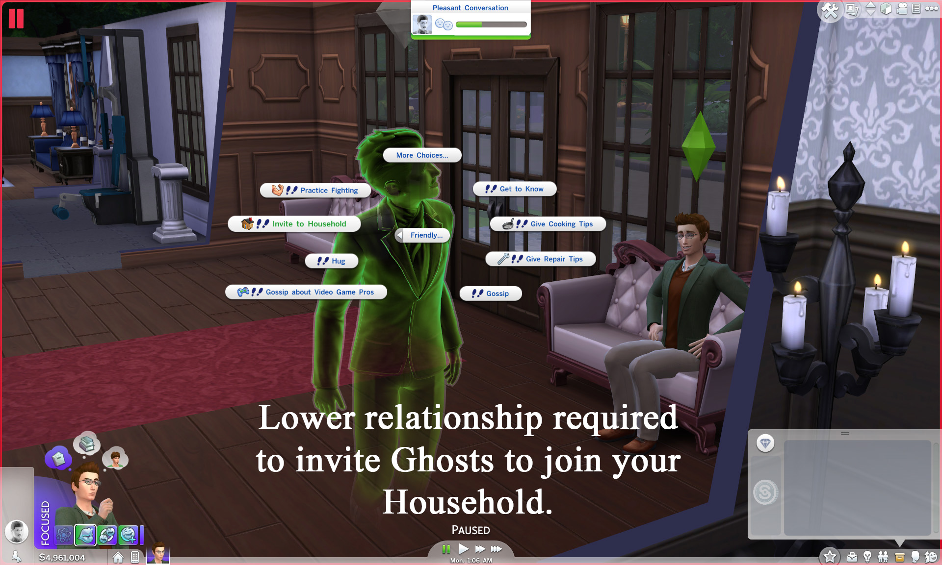 sims 3 dating a ghost Sims 4 ghosts was one of the major 2014 updates to sims 4 as you know, ghosts have been haunting the sims for a while now, tapping their spooky fingers on your shoulder when you're in the toilet, haunting your garden, lurking around corridors.