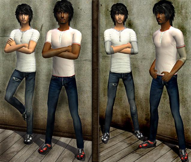 Výsledek obrázku pro the sims 2 clothes men