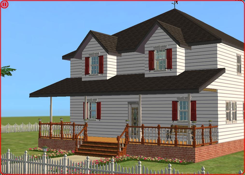decided to do a farmhouse   American Farmhouse