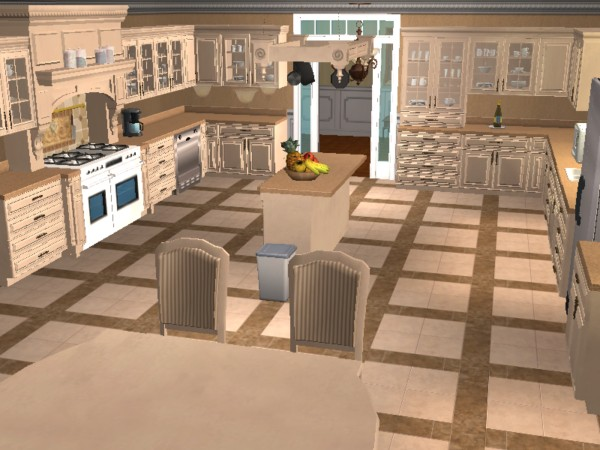 Mod the sims tuscan kitchen set updated for Kitchen set sims 4