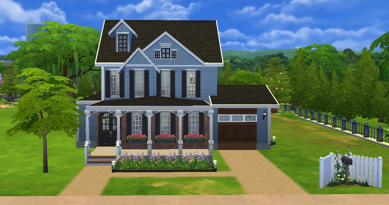 Mod the sims modern storybook house for Storybook homes prices