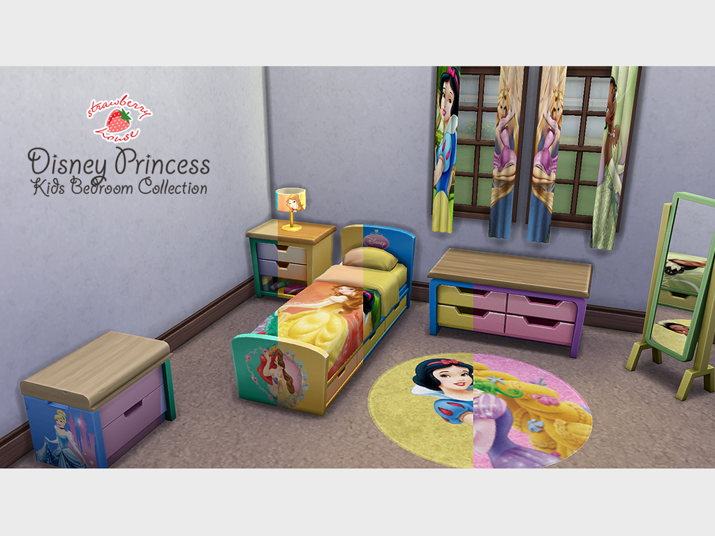 Disney Princess Kids Bedroom Collection